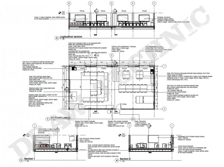 Types Of Technical Drawing In Architecture Technical Draft